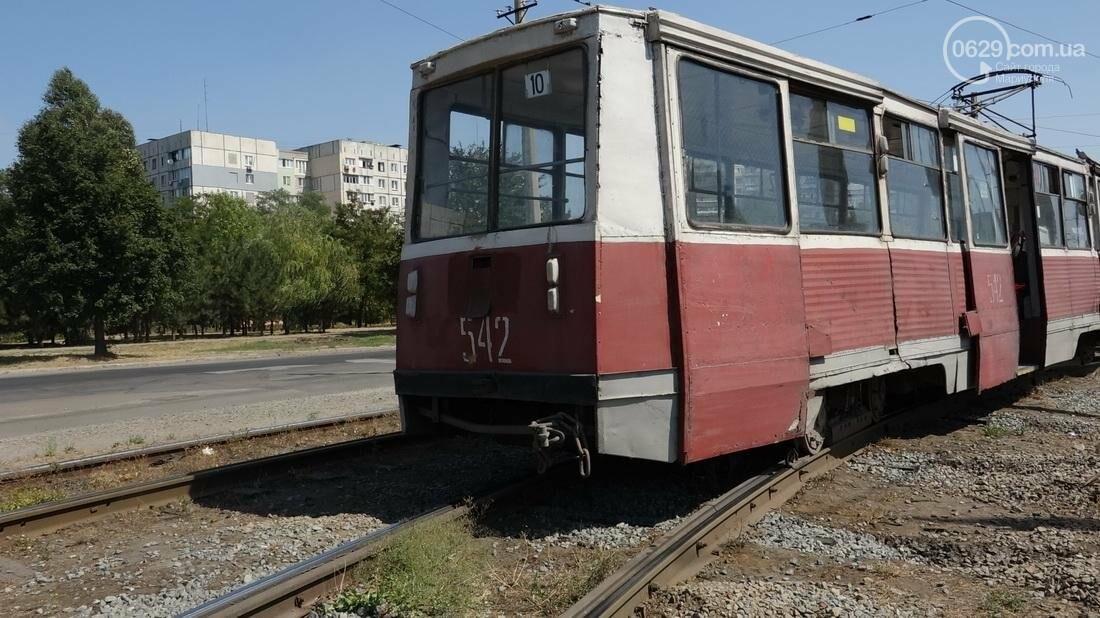 В Мариуполе трамвай сошел с рельс (ФОТО), фото-13