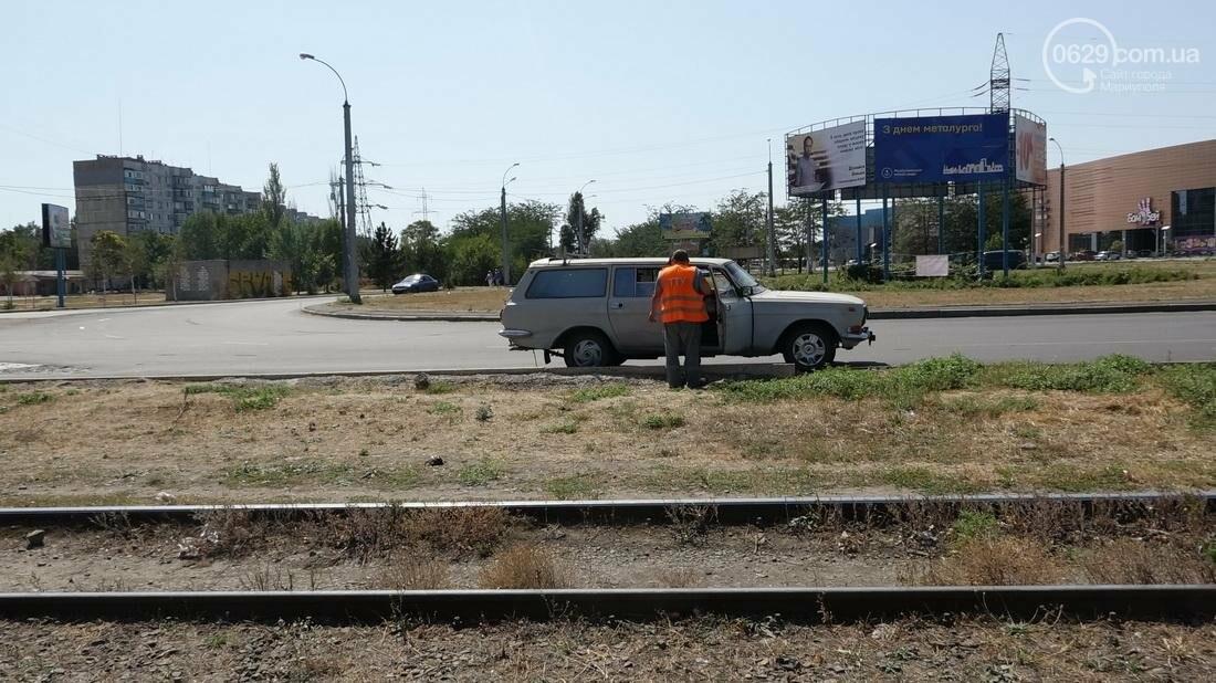 В Мариуполе трамвай сошел с рельс (ФОТО), фото-16