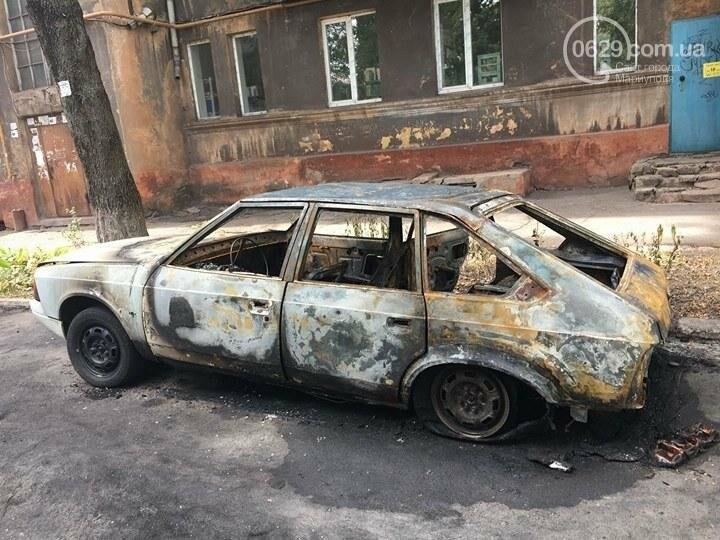 В Мариуполе ночью сожгли авто (ФОТО), фото-2