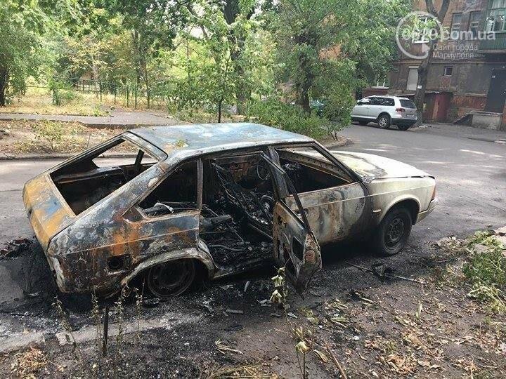 В Мариуполе ночью сожгли авто (ФОТО), фото-3