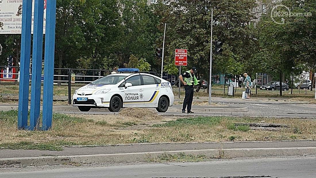 """На перекрестке в  Мариуполе столкнулись """"Мерседес"""" и """"Ауди""""( Фотофакт), фото-6"""