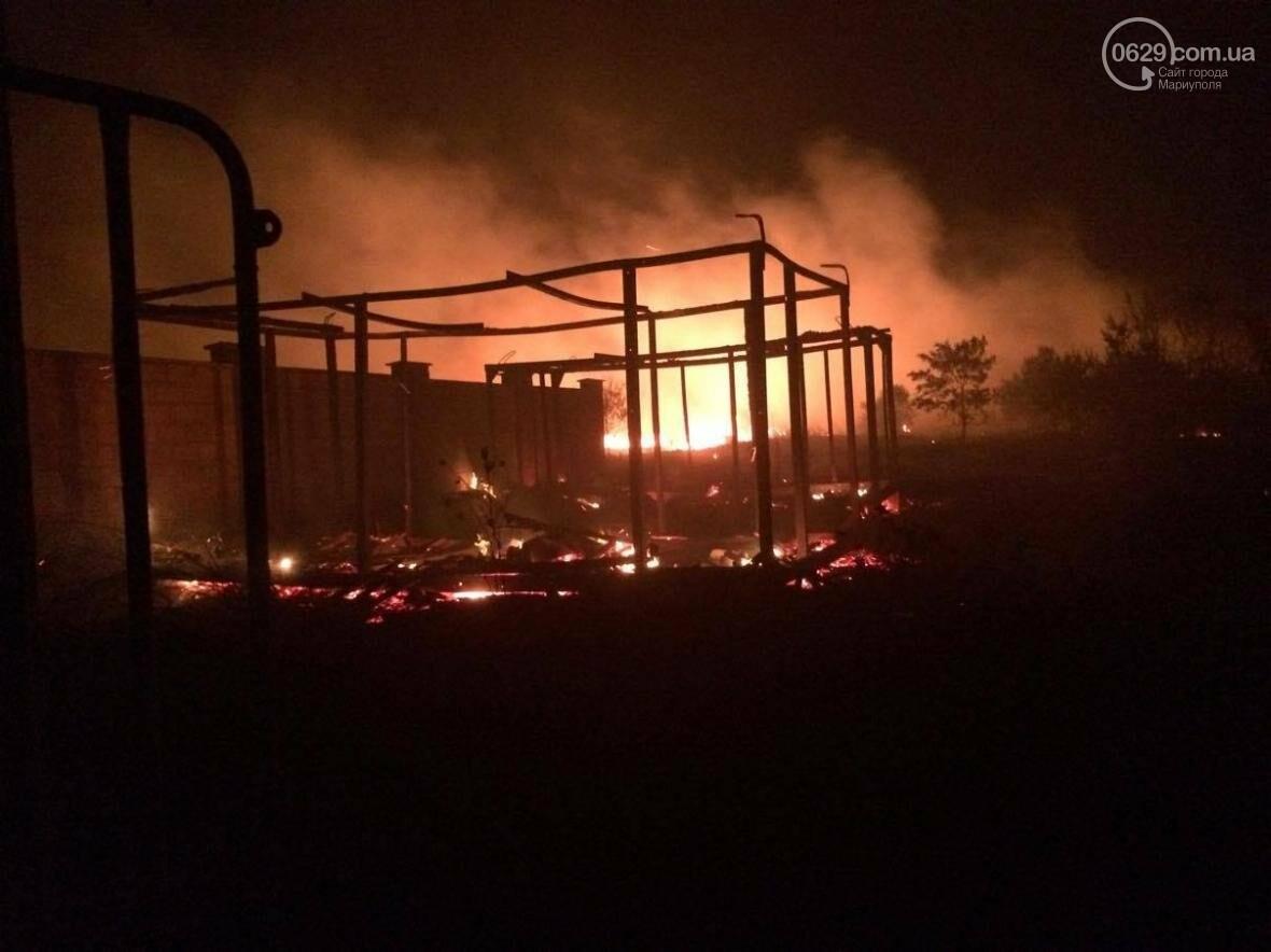 В Мелекино, вблизи пансионатов, горят поля. Люди эвакуируются (ФОТО), фото-3