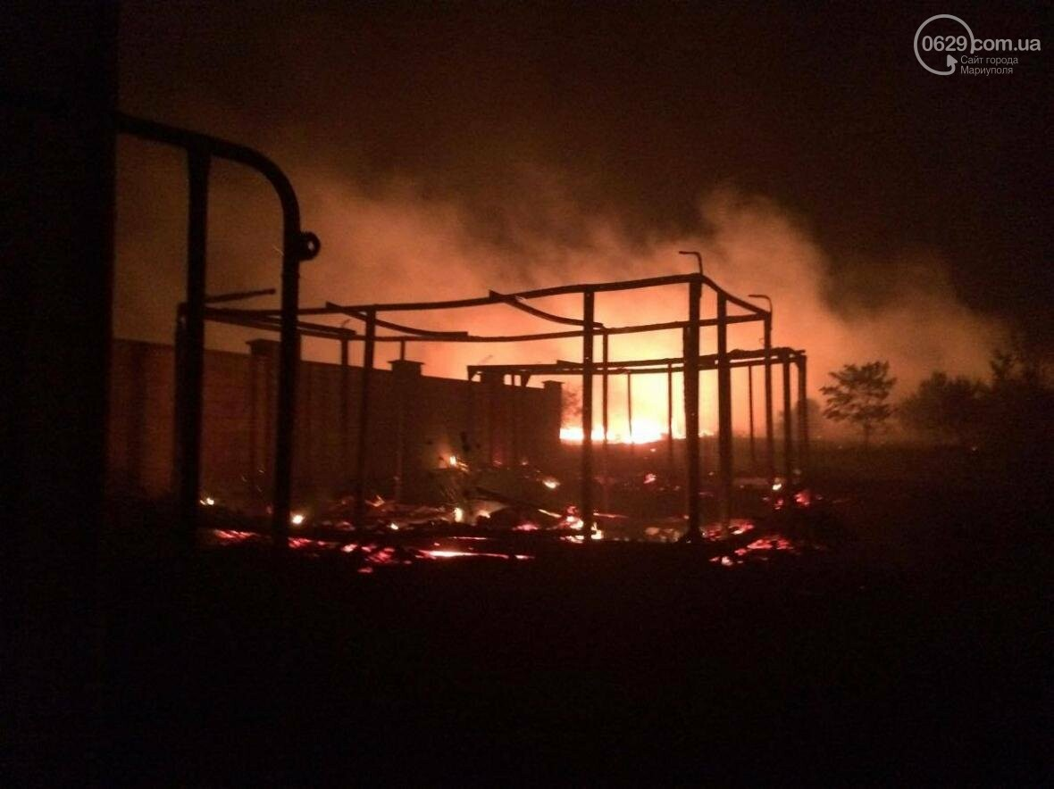 В Мелекино, вблизи пансионатов, горят поля. Люди эвакуируются (ФОТО), фото-5