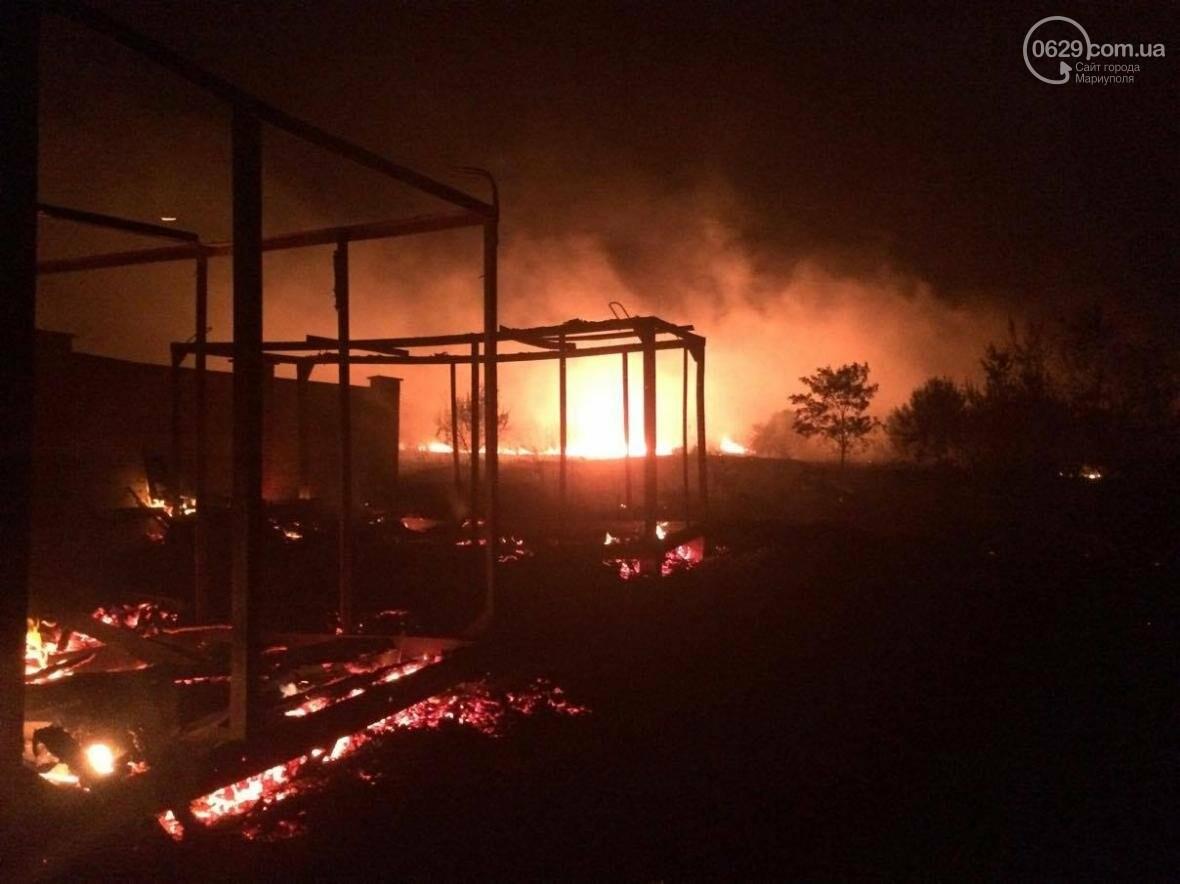 В Мелекино, вблизи пансионатов, горят поля. Люди эвакуируются (ФОТО), фото-6