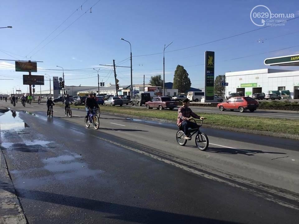 Закрытие сезона! Велолюбители и автомобилисты выясняли, кто главный на мариупольских дорогах (ФОТО), фото-2