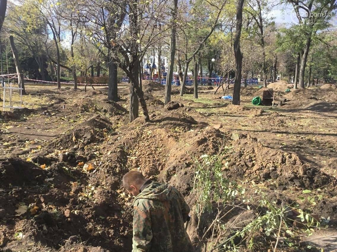 На немецком кладбище в центре Мариуполя был захоронен советский солдат (ФОТО, ВИДЕО), фото-8