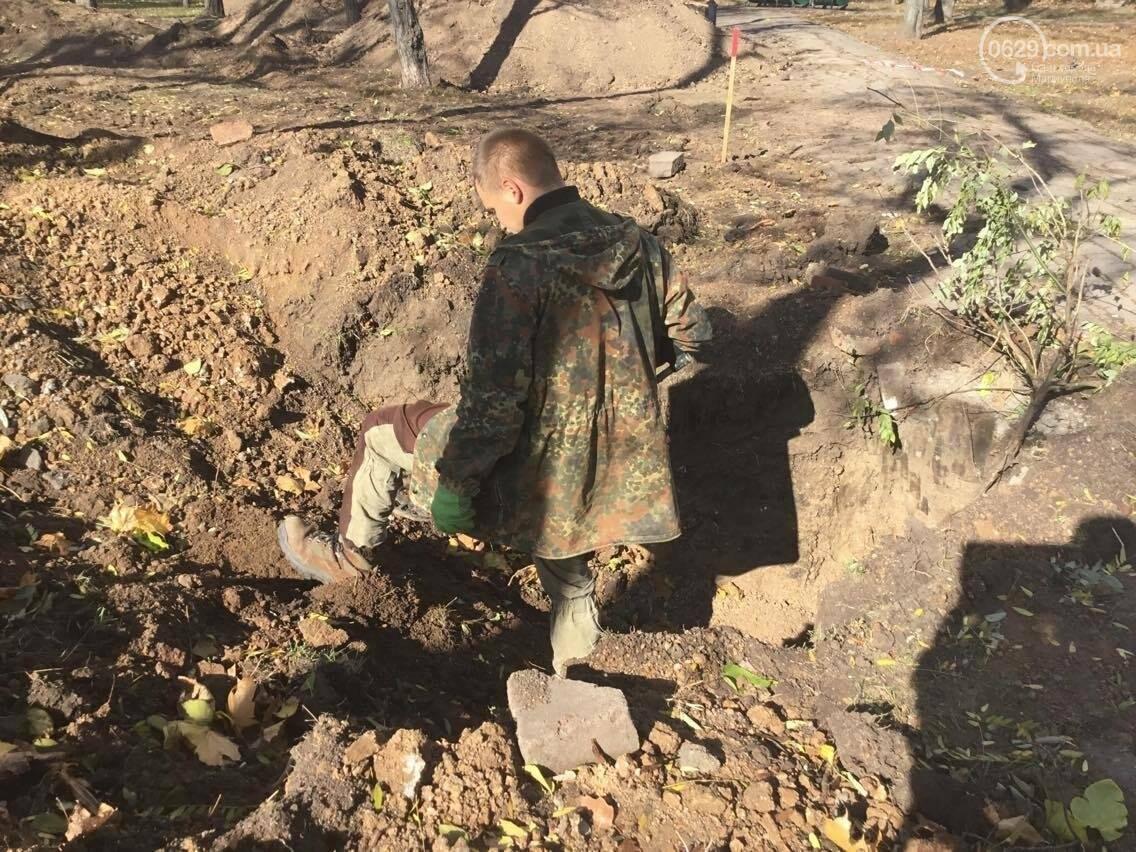 На немецком кладбище в центре Мариуполя был захоронен советский солдат (ФОТО, ВИДЕО), фото-9
