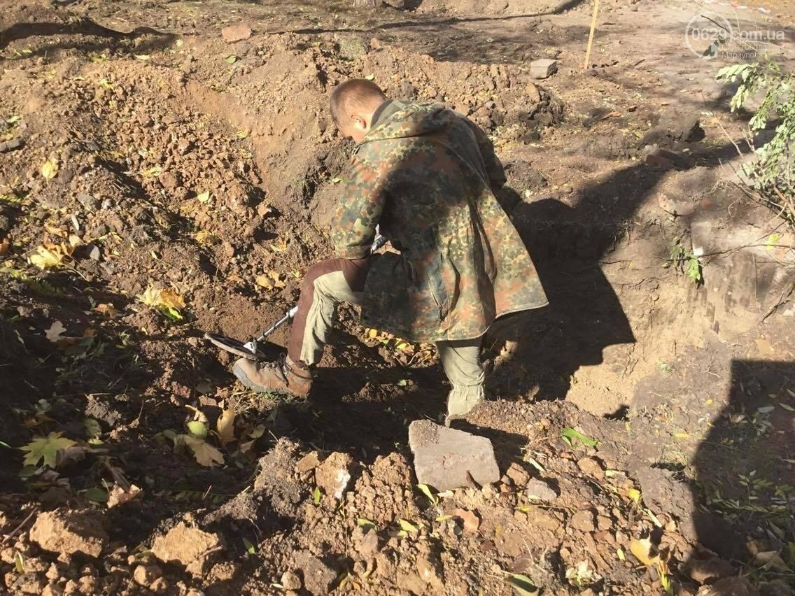 На немецком кладбище в центре Мариуполя был захоронен советский солдат (ФОТО, ВИДЕО), фото-10