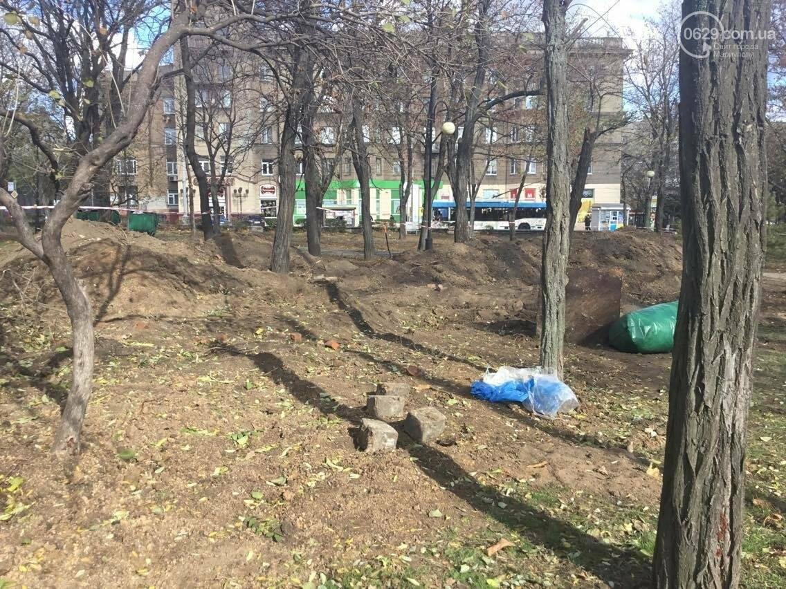 На немецком кладбище в центре Мариуполя был захоронен советский солдат (ФОТО, ВИДЕО), фото-6