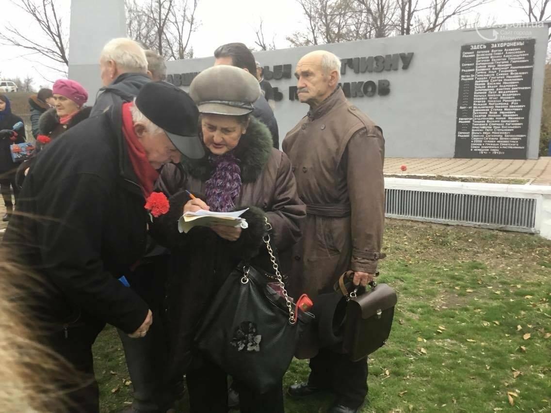 В Мариуполе перезахоронили останки советского воина, найденные на немецком кладбище (ФОТО, ВИДЕО), фото-5