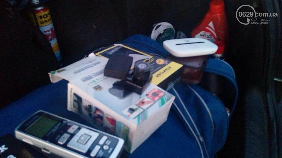 "На КПВВ ""Гнутово"" задержали нарушителя со ""шпионской"" аппаратурой (ФОТО) , фото-2"