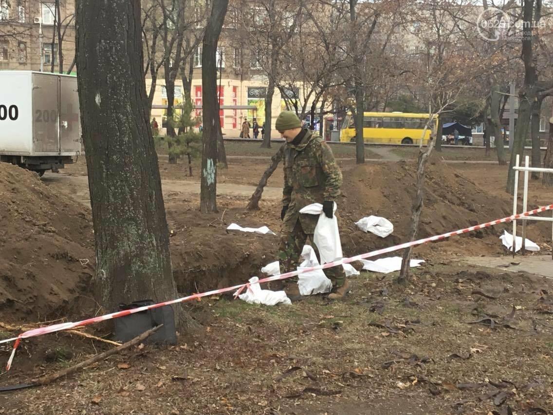 В мариупольском сквере может находиться до 1000 могил немецких солдат, - эксперты (ФОТО, ВИДЕО), фото-4