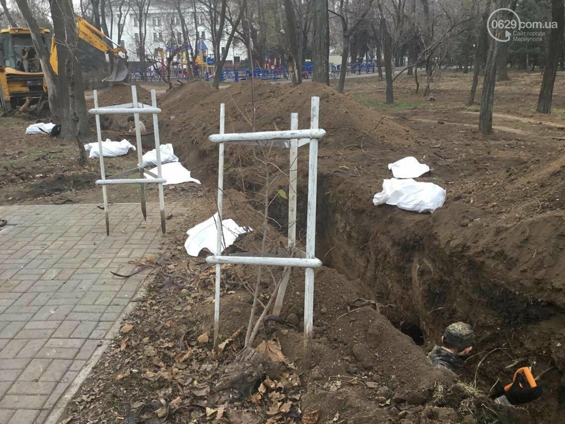В мариупольском сквере может находиться до 1000 могил немецких солдат, - эксперты (ФОТО, ВИДЕО), фото-2