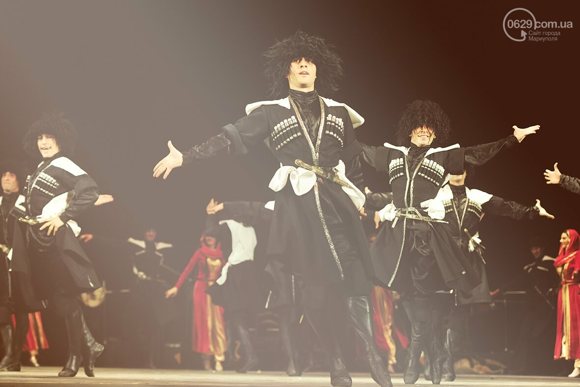 Государственный ансамбль песни и танца Грузии «Кутаиси» в Мариуполе, фото-2