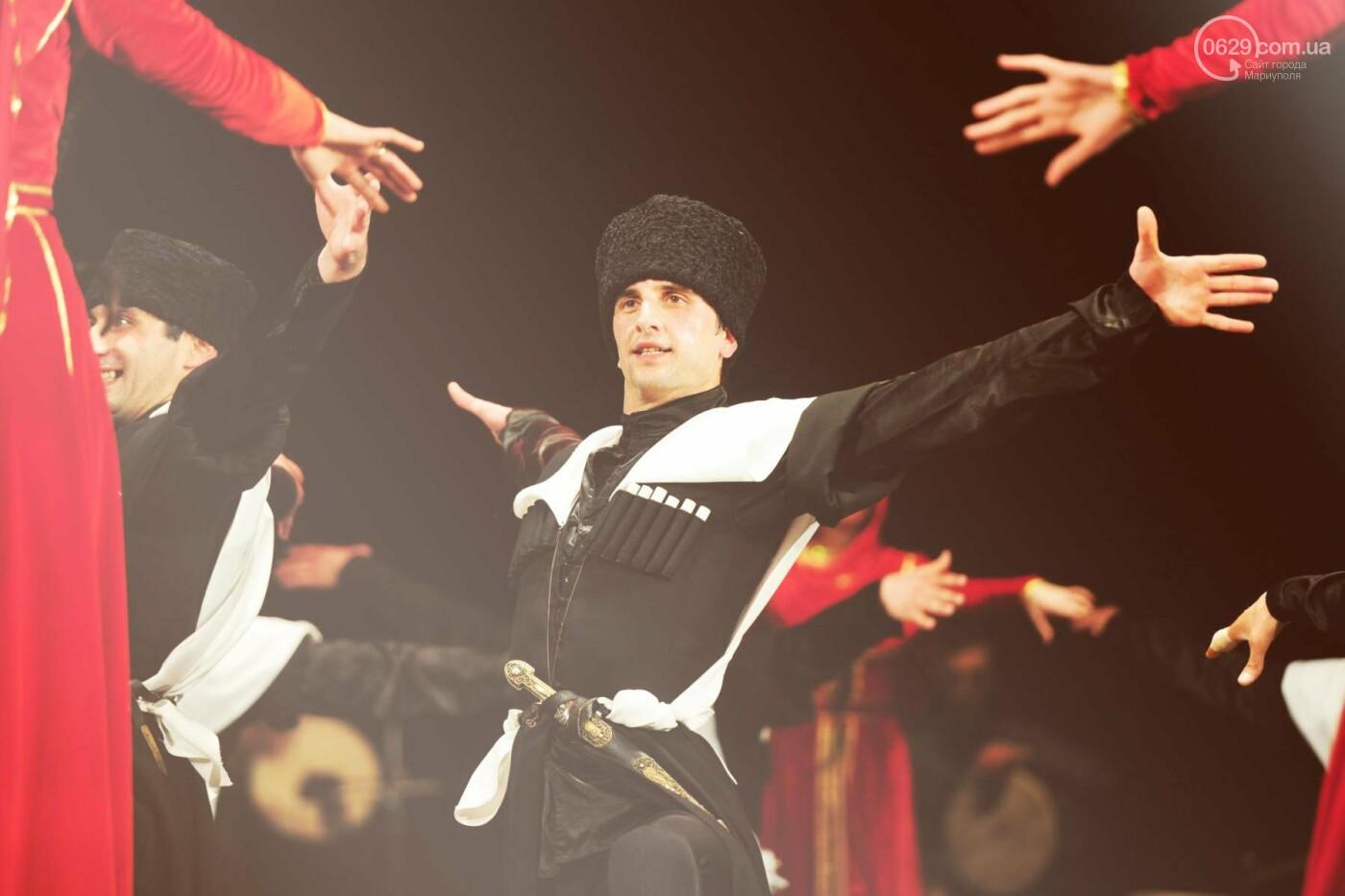 Государственный ансамбль песни и танца Грузии «Кутаиси» в Мариуполе, фото-6