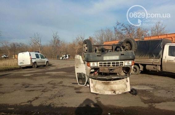 Под Мариуполем  в аварии пострадали четыре человека(ФОТО), фото-2
