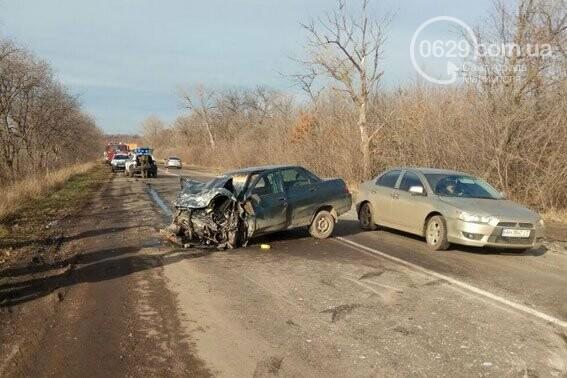Под Мариуполем  в аварии пострадали четыре человека(ФОТО), фото-1