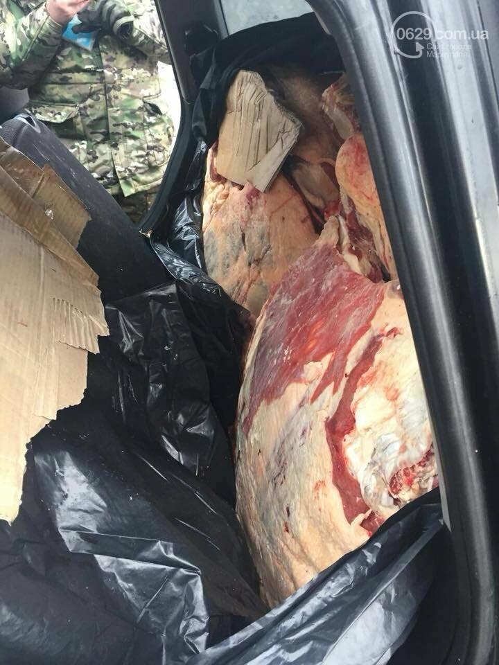"""Пограничники не пропустили в """"ДНР"""" 300 кг мяса (ФОТО), фото-2"""
