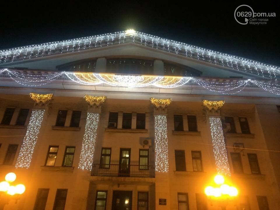 На новогодние праздники в этом году в Мариуполе потратят 800 тысяч гривен, фото-2