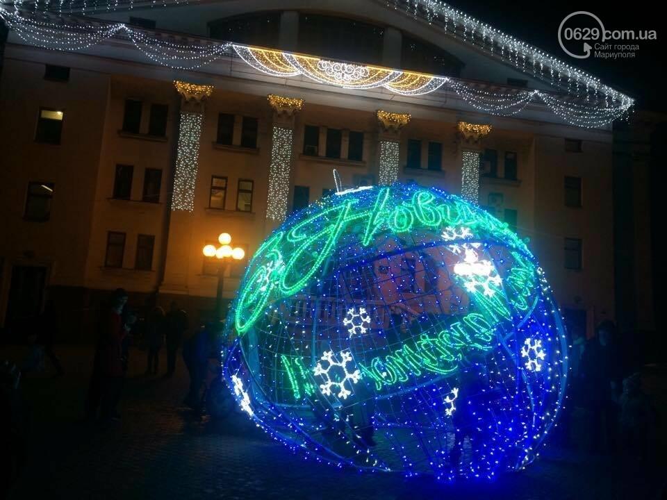 На новогодние праздники в этом году в Мариуполе потратят 800 тысяч гривен, фото-4