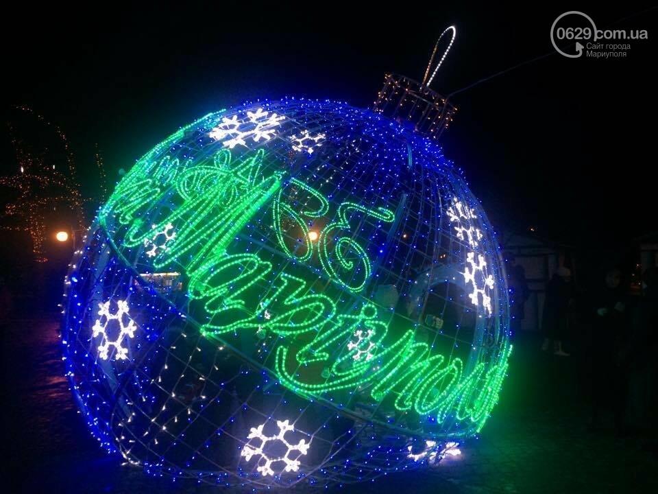 На новогодние праздники в этом году в Мариуполе потратят 800 тысяч гривен, фото-3