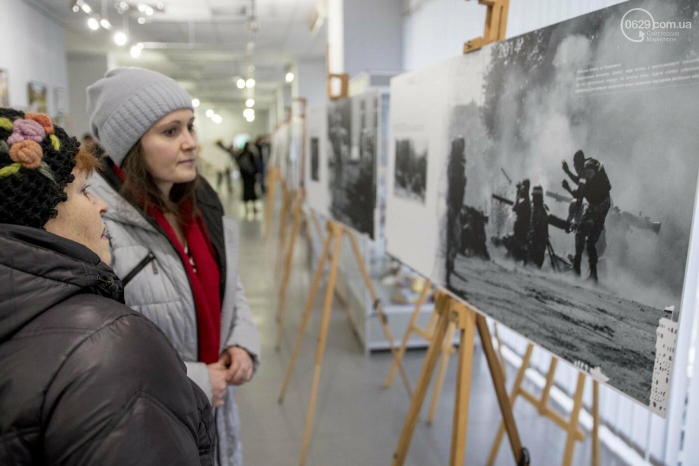 Фотовыставка «Два столетия, одна война»: в Мариуполе провели параллель между войной на Донбассе и борьбой УПА (ФОТО, ВИДЕО), фото-7