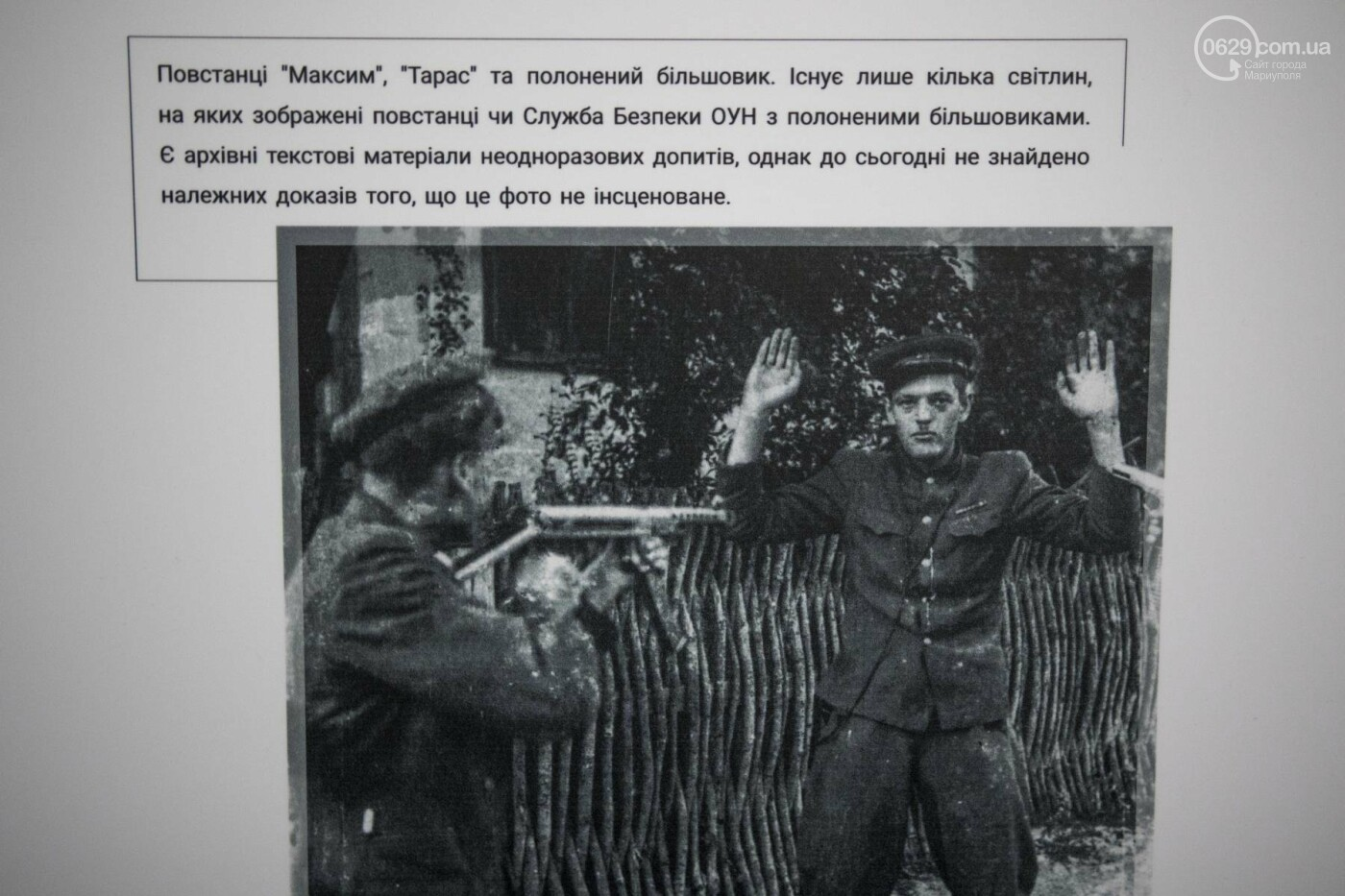 Фотовыставка «Два столетия, одна война»: в Мариуполе провели параллель между войной на Донбассе и борьбой УПА (ФОТО, ВИДЕО), фото-15