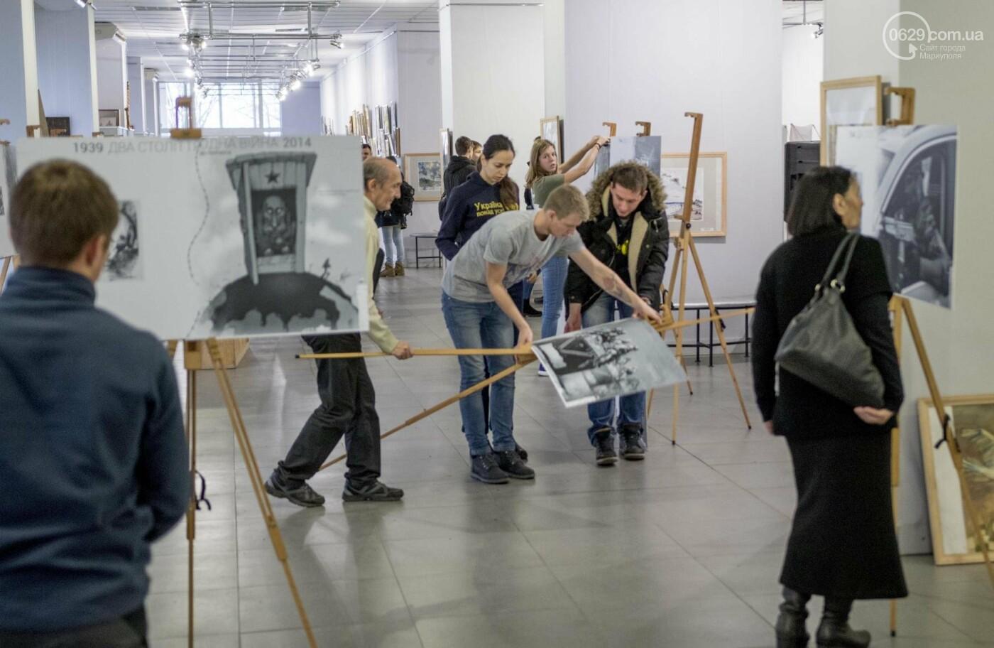 Фотовыставка «Два столетия, одна война»: в Мариуполе провели параллель между войной на Донбассе и борьбой УПА (ФОТО, ВИДЕО), фото-6