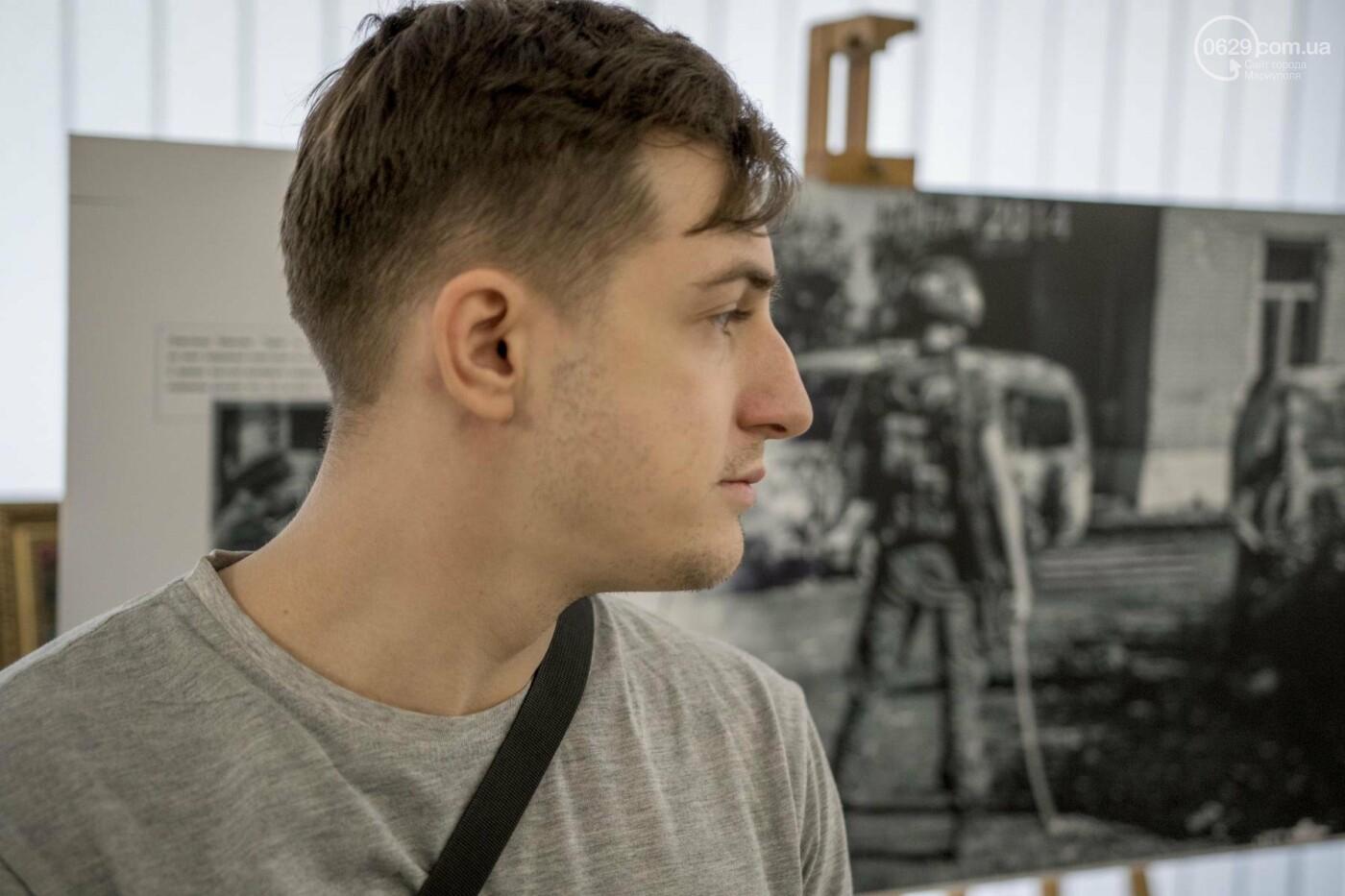 Фотовыставка «Два столетия, одна война»: в Мариуполе провели параллель между войной на Донбассе и борьбой УПА (ФОТО, ВИДЕО), фото-10