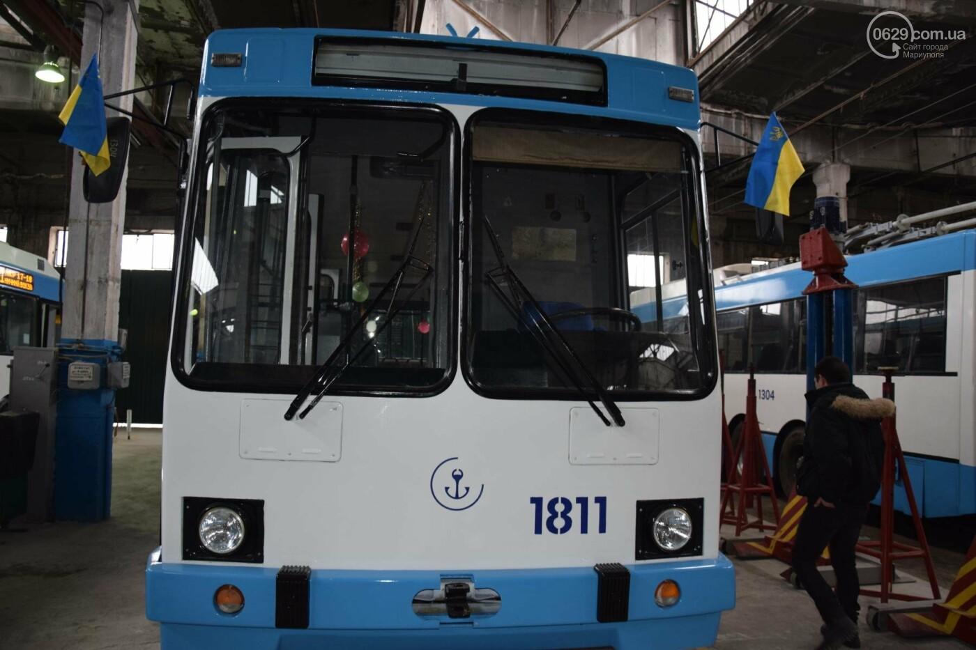 """В """"малярне будущего"""" реанимировали старый мариупольский троллейбус (ФОТО, ВИДЕО), фото-1"""