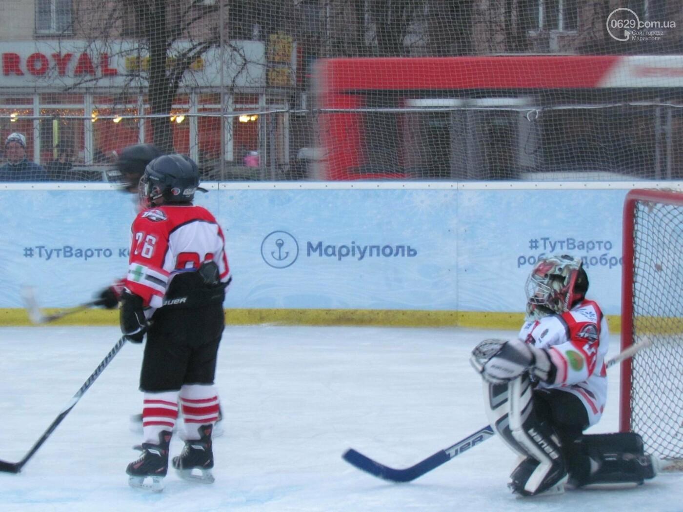 В Мариуполе хоккеисты и фигуристы открыли каток (ВИДЕО ОНЛАЙН), фото-4