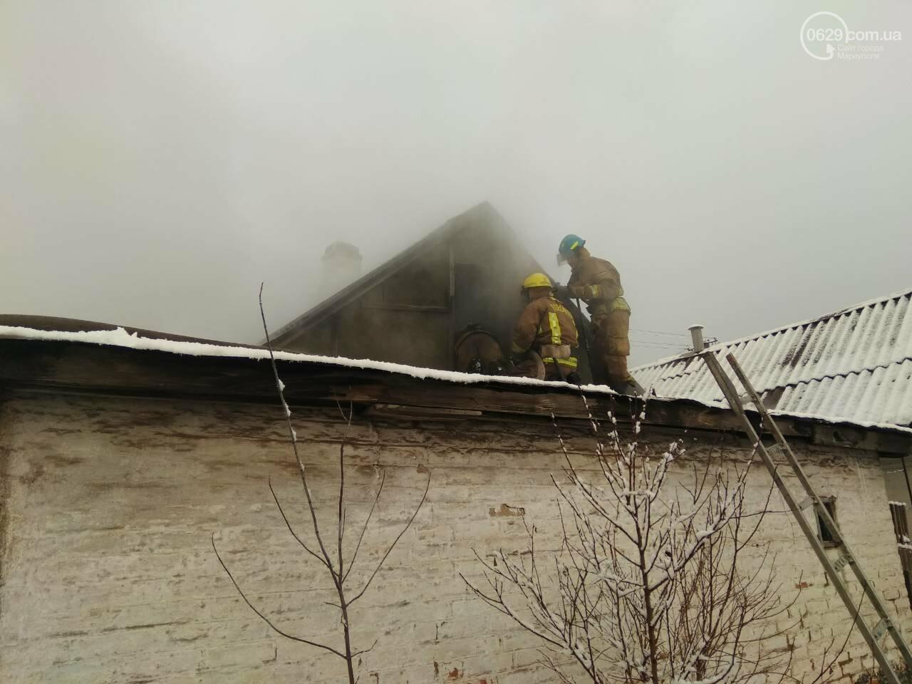 В Кальмиусском районе на месте пожара обнаружили труп (ФОТО), фото-1