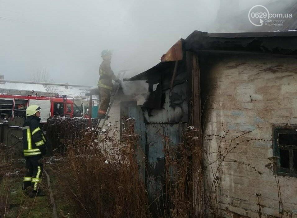 В Кальмиусском районе на месте пожара обнаружили труп (ФОТО), фото-3