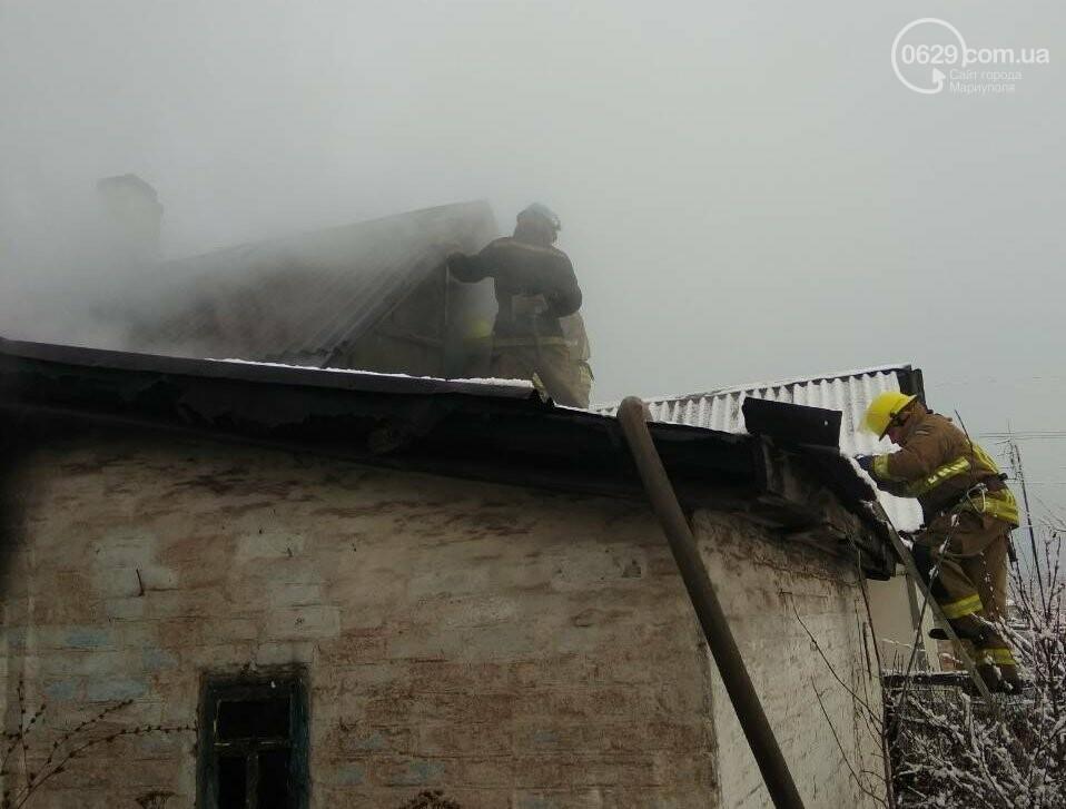 В Кальмиусском районе на месте пожара обнаружили труп (ФОТО), фото-2
