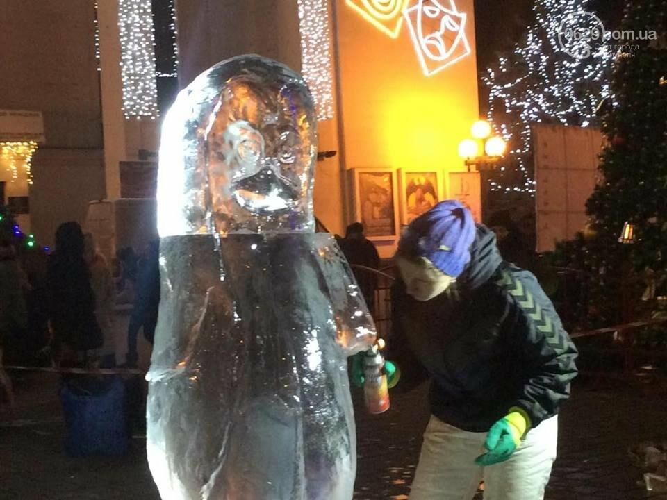 В центре Мариуполя появится 9 ледяных скульптур (ФОТО, ВИДЕО), фото-4