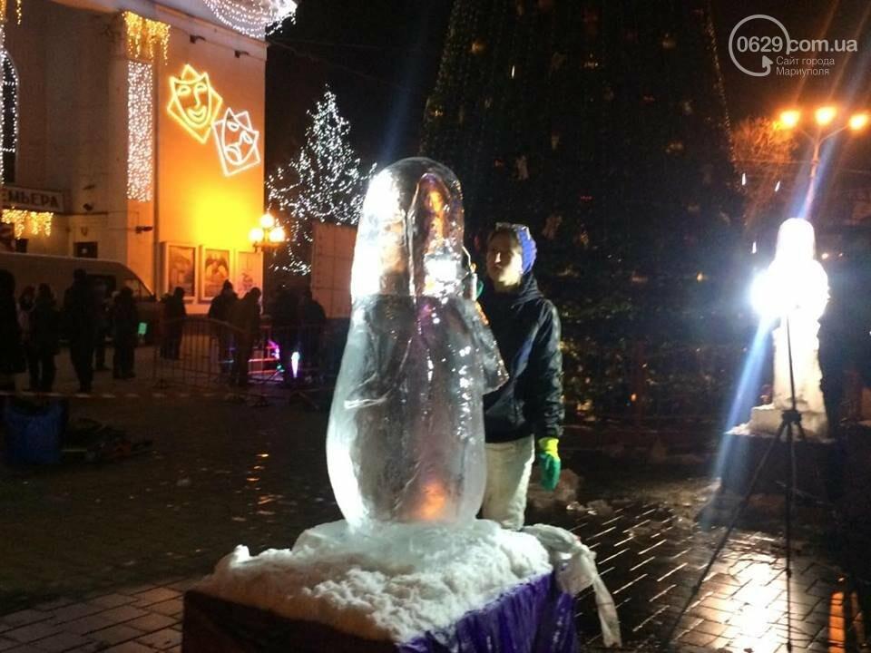 В центре Мариуполя появится 9 ледяных скульптур (ФОТО, ВИДЕО), фото-2