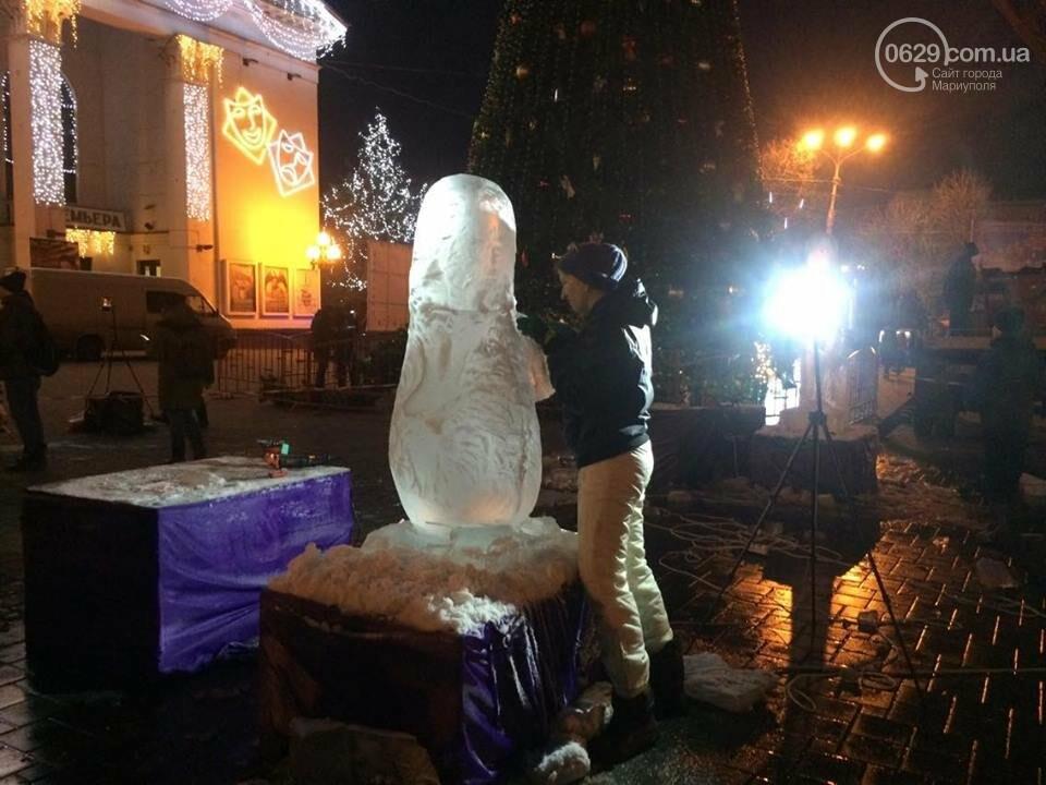 В центре Мариуполя появится 9 ледяных скульптур (ФОТО, ВИДЕО), фото-1
