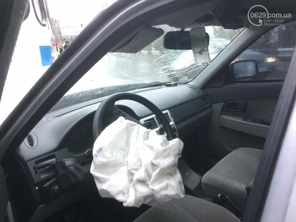 """В Мариуполе """"Лада"""" врезалась в троллейбус. Пострадал ребенок (ФОТО+ВИДЕО), фото-5"""