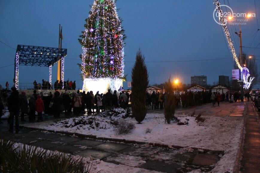 Мариуполь остался без самой высокой елки в Украине и митинг против беспредела «Укрзализныци». О чем писал 0629.com.ua 27 декабря, фото-5
