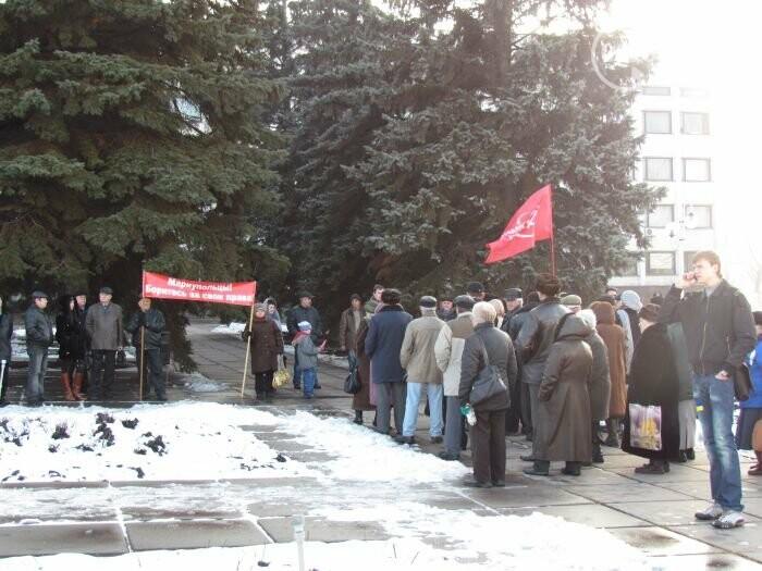 Мариуполь остался без самой высокой елки в Украине и митинг против беспредела «Укрзализныци». О чем писал 0629.com.ua 27 декабря, фото-6