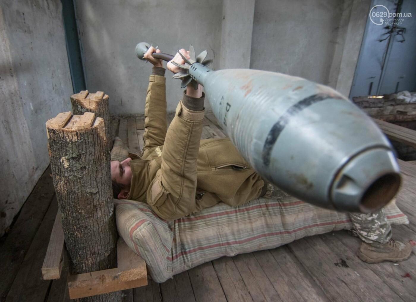 Фотография украинского военного, сделанная под Мариуполем, попала в The Guardian, фото-1