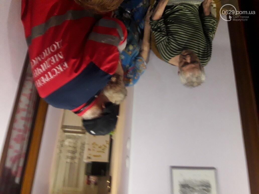 В Мариуполе на пожаре пострадали пенсионеры. Дом обесточен (ФОТО), фото-3