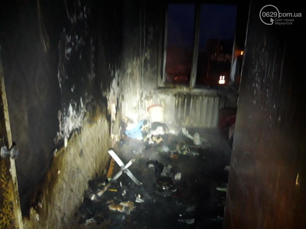 В Мариуполе на пожаре пострадали пенсионеры. Дом обесточен (ФОТО), фото-2