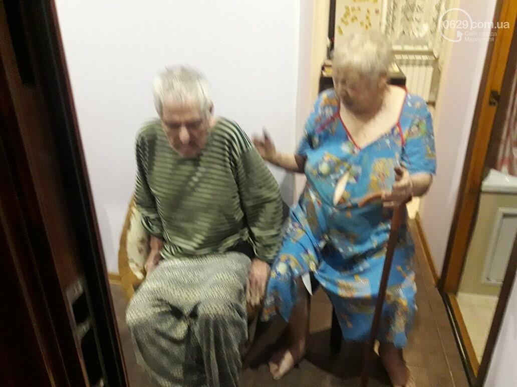 В Мариуполе на пожаре пострадали пенсионеры. Дом обесточен (ФОТО), фото-4