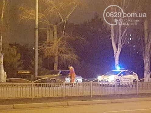 В центре Мариуполя задержали Деда Мороза (Фотофакт, ВИДЕО), фото-1