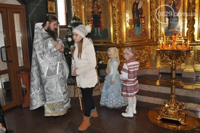 На Рождество в Свято-Покровском храме с. Боевое верующие соревновались в исполнении щедривок (Аэросъемка), фото-7