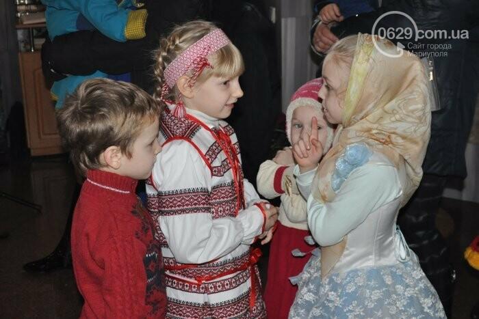 На Рождество в Свято-Покровском храме с. Боевое верующие соревновались в исполнении щедривок (Аэросъемка), фото-12