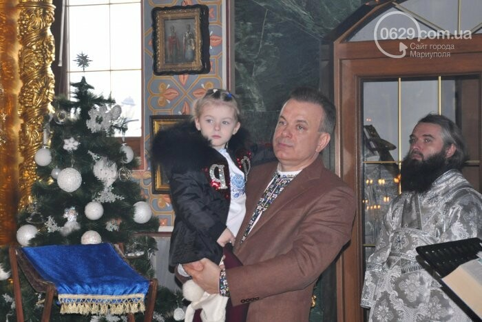 На Рождество в Свято-Покровском храме с. Боевое верующие соревновались в исполнении щедривок (Аэросъемка), фото-15