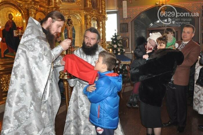 На Рождество в Свято-Покровском храме с. Боевое верующие соревновались в исполнении щедривок (Аэросъемка), фото-16