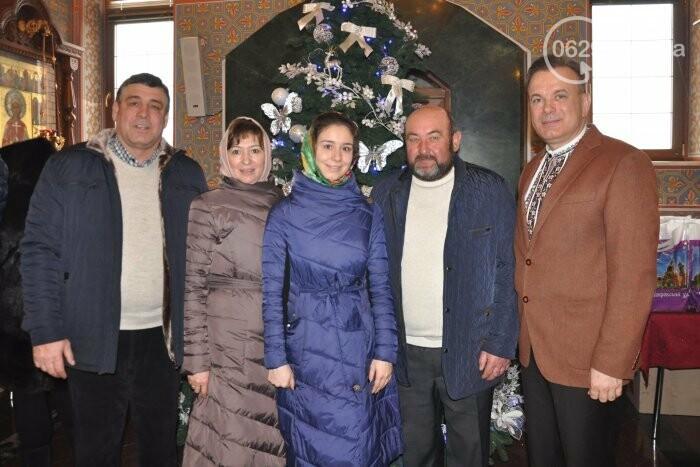 На Рождество в Свято-Покровском храме с. Боевое верующие соревновались в исполнении щедривок (Аэросъемка), фото-17